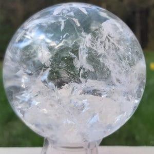 Bergkristallkugel