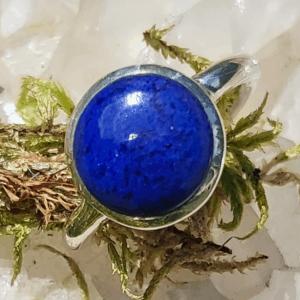 Runder Lapislazuli Ring